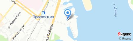 Психолог и Я на карте Днепропетровска