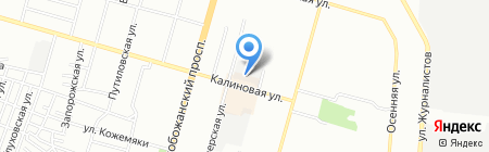 СИЧЕСЛАВАГРОМОНТАЖ на карте Днепропетровска