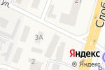 Схема проезда до компании Юбилейный в Слобожанском