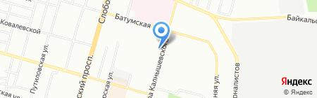 СТУДІЯ ВІКОН на карте Днепропетровска