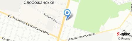 КАРПАТЫ на карте Днепропетровска
