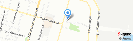 Капризные Дети на карте Днепропетровска