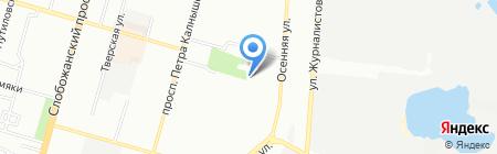 Беатрис на карте Днепропетровска
