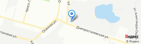 Текстиль-Сервис на карте Днепропетровска