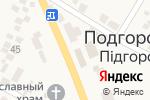 Схема проезда до компании Магазин канцтоваров в Подгородном