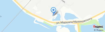 Укркомпозит на карте Днепропетровска