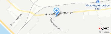 Тепла оселя на карте Днепропетровска