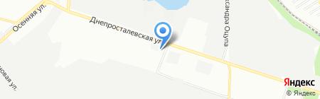 АГЗС Фаворит Газ на карте Днепропетровска