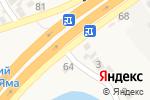Схема проезда до компании Гарант в Подгородном