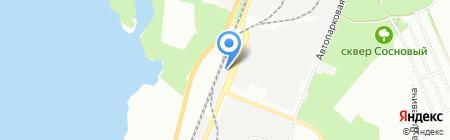 Содружество на карте Днепропетровска