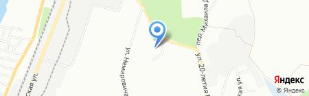 Настенька на карте Днепропетровска