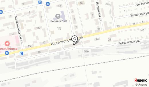 Банкомат Ощадбанк. Схема проезда в Днепропетровске