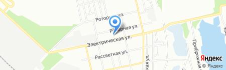 Ласунчик на карте Днепропетровска