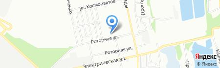 Кудряшка на карте Днепропетровска