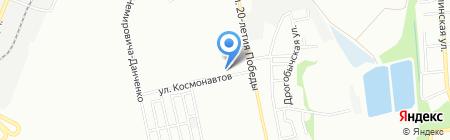 Мастерская по ремонту одежды на карте Днепропетровска