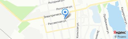 Золотий Струмок на карте Днепропетровска