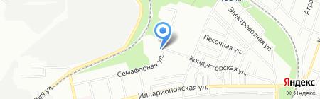 Ермолинские полуфабрикаты на карте Днепропетровска
