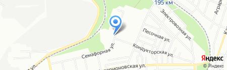 Анва на карте Днепропетровска