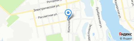 Славне курча на карте Днепропетровска