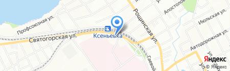 Маркет Макс на карте Днепропетровска
