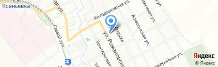 Euronet WORLDWIDE на карте Днепропетровска
