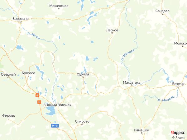 деревня Мишутино на карте