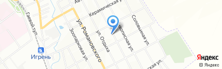 Дніпропетровська дитяча музична школа №17 на карте Днепропетровска