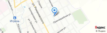 Почтовое отделение №114 на карте Днепропетровска