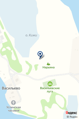 МУЗЕЙ-ЗАПОВЕДНИК КИЖИ на карте Медвежьегорска