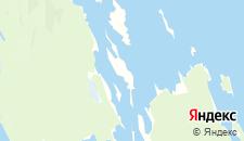 Гостиницы города Кижи на карте