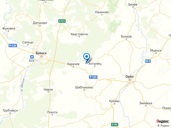 деревня Башмаково на карте