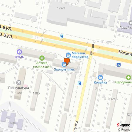 Космічна вул., 122