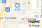 Схема проезда до компании Eva в Новомосковске