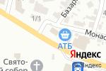 Схема проезда до компании Сим-Сим в Новомосковске