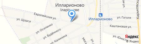 Продуктовый магазин на карте Илларионово