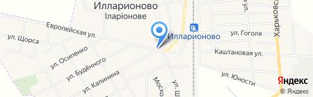 Киоск по продаже хлебобулочных изделий на карте Илларионово
