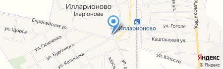 Автомагазин на карте Илларионово