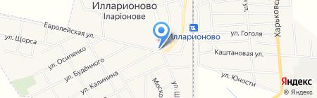 Олимп на карте Илларионово