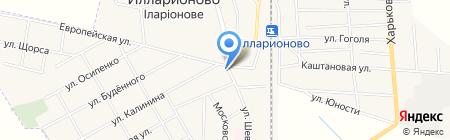 Парикмахерская на карте Илларионово