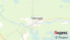 Отели города Чагода на карте