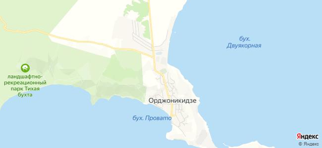 Базы отдыха Орджоникидзе - объекты на карте