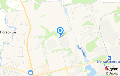 Местоположение на карте пункта техосмотра по адресу Курская обл, г Железногорск, ул Мира, зд 67