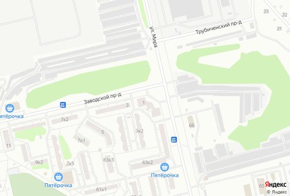жилой комплекс по ул. Мира - Заводской проезд