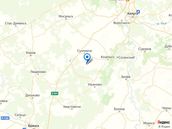 село Фролово на карте