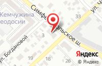 Схема проезда до компании Большой праздник в Щербинке