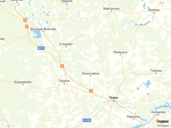 деревня Тимошкино на карте