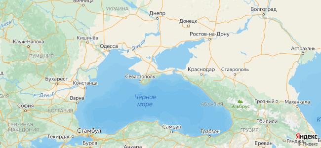 Феодосия - объекты на карте