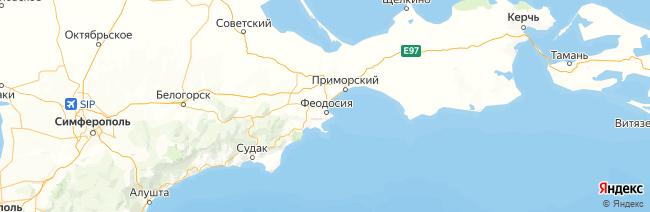 Большая Феодосия на карте