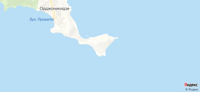 Орджоникидзе - объекты на карте