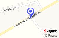 Схема проезда до компании ТФ ОКТАН в Шаховской